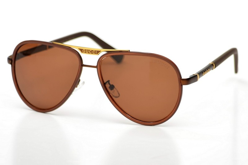 Мужские очки Gucci 874brown-M, фото 30