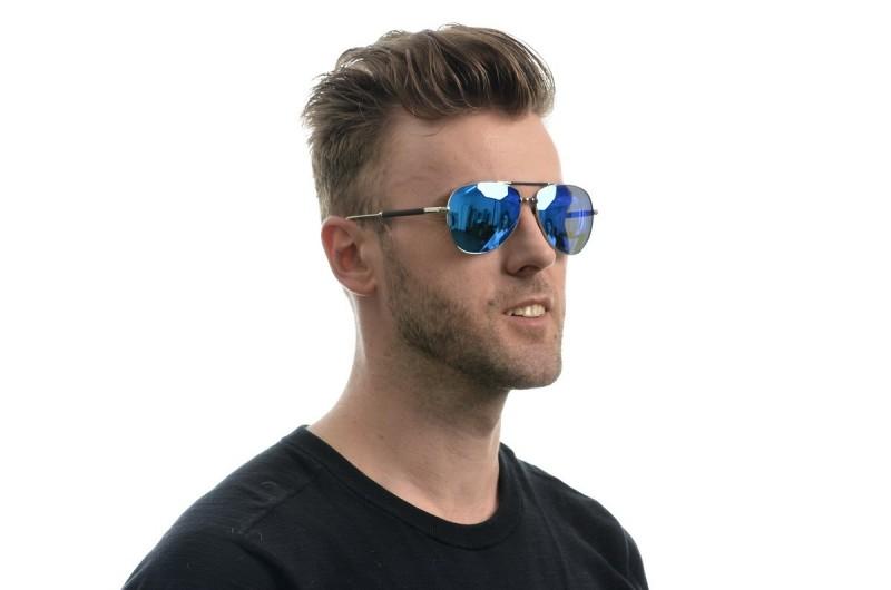Мужские очки Dior 0158blue-M, фото 5