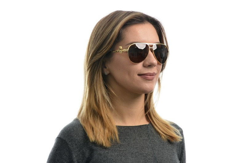 Женские очки Cartier 820094g-W, фото 4