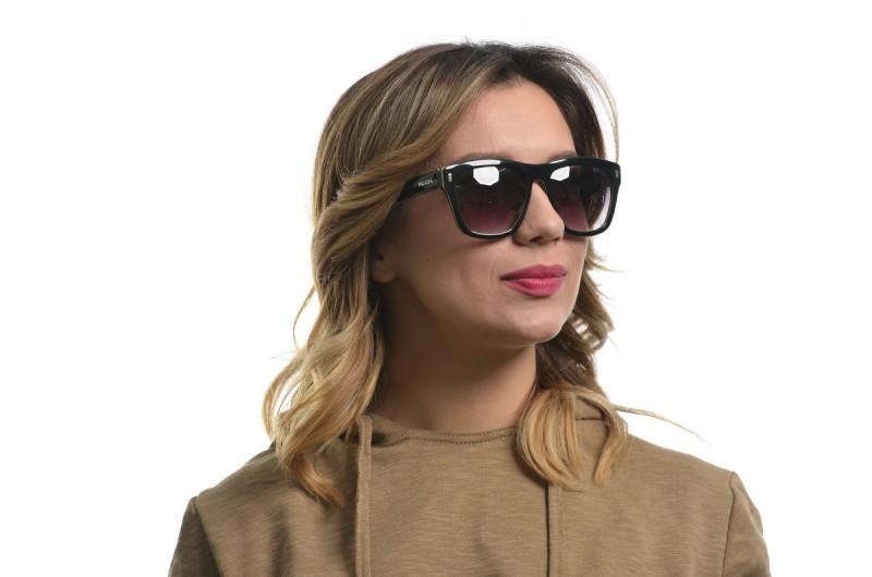 Женские очки Prada spr68n-1ab-W, фото 4
