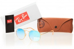 Ray Ban Round Metal 3447seabreeze-gold