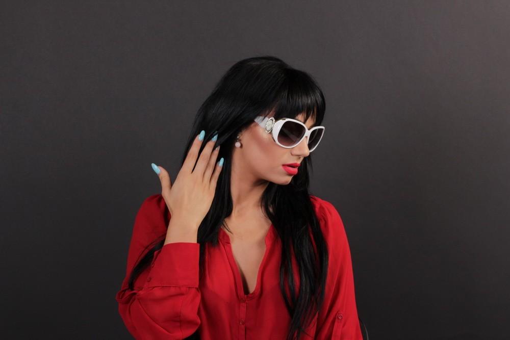 Женские очки Chopard 077wh, фото 10