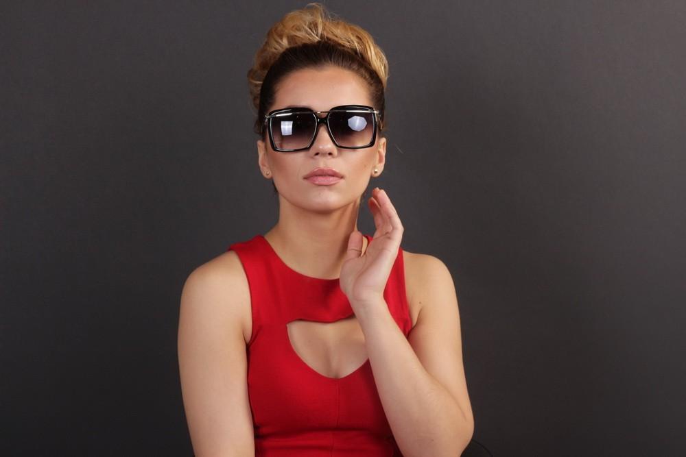 Женские классические очки 56244s-10, фото 7
