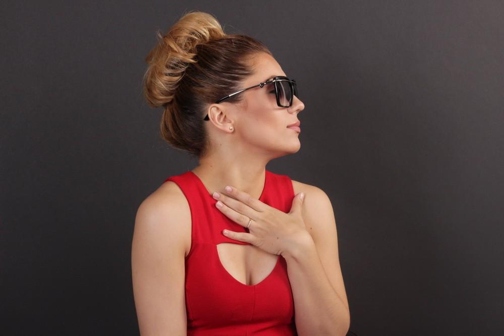 Женские классические очки 56244s-10, фото 8