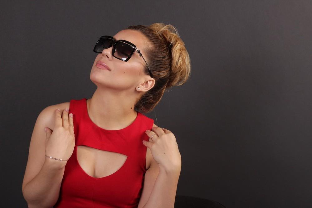 Женские классические очки 56244s-10, фото 9