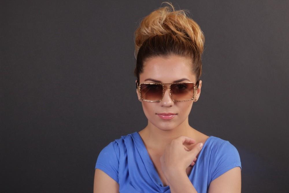 Женские классические очки 5885s-192, фото 8