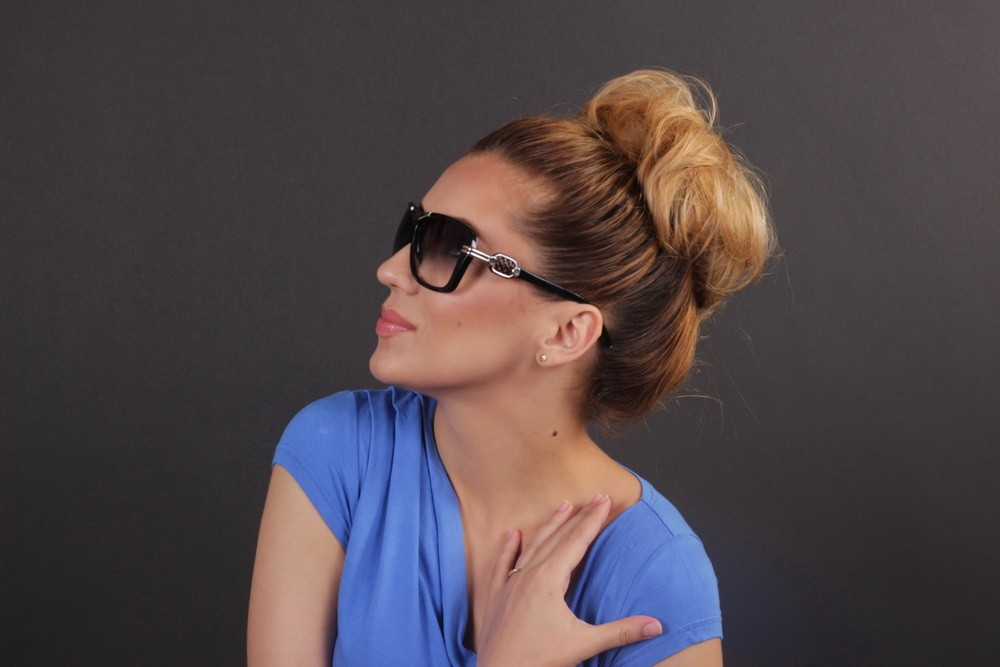 Женские классические очки 56266s-10, фото 9