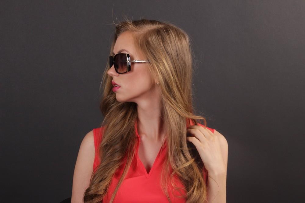 Женские классические очки 56212s-13, фото 8
