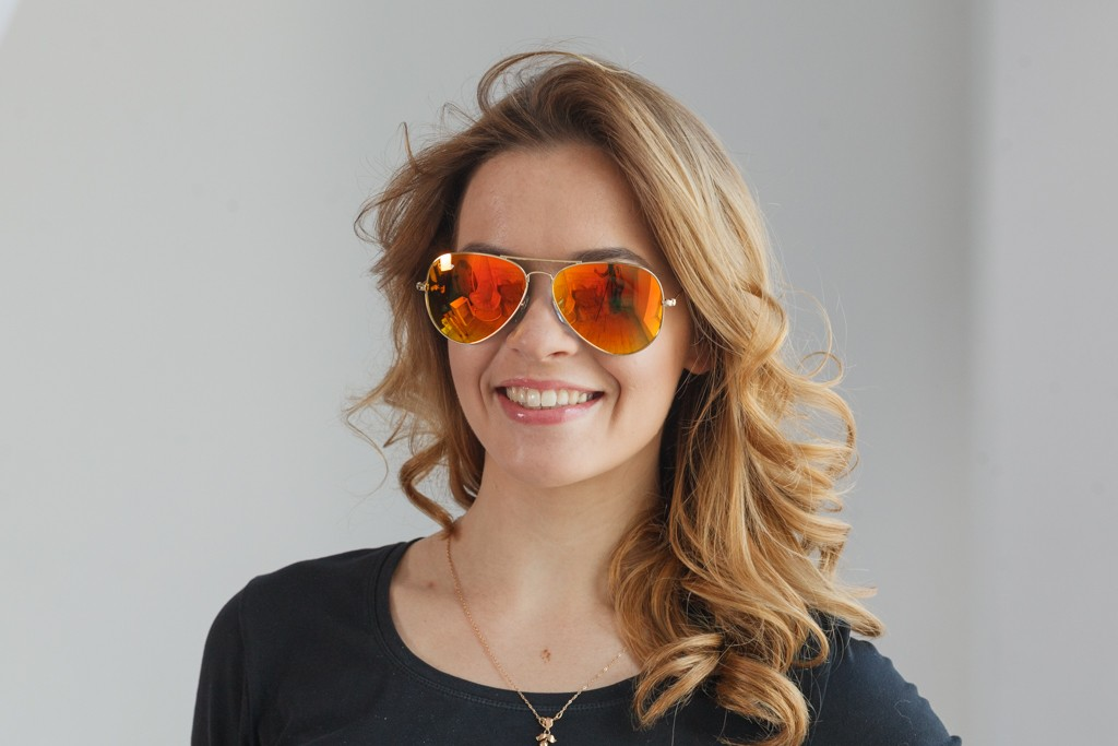 Ray Ban Original 3026D-orange, фото 7