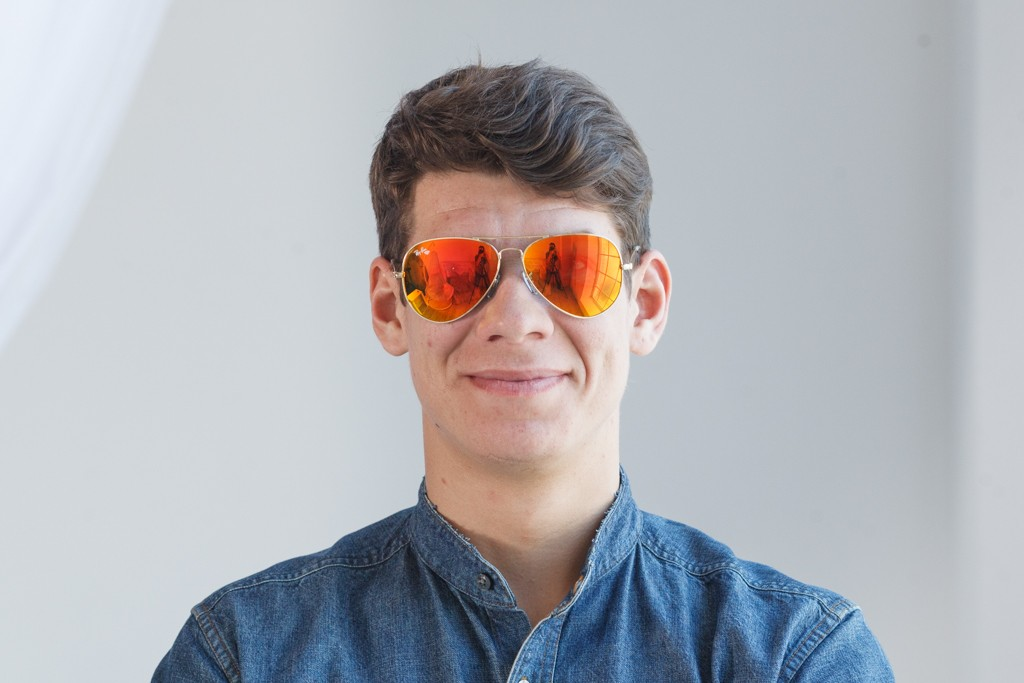 Ray Ban Original 3026D-orange, фото 9